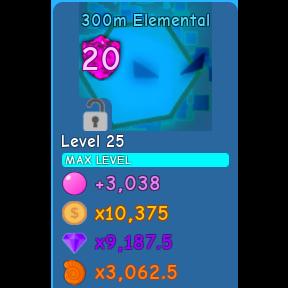 Pet | 300m Elemental lvl MAX