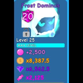 Pet | 1x Frost Dominus MAX