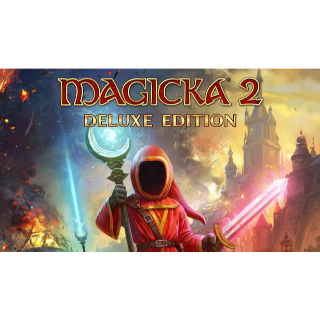Magicka 2 + Deluxe edition DLC update GLOBAL KEY  INSTANT DELIVERY