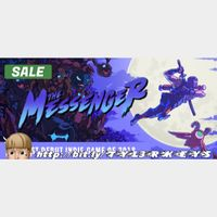 The Messenger Steam Key 🔑 / Worth $19.99 / 𝑳𝑶𝑾𝑬𝑺𝑻 𝑷𝑹𝑰𝑪𝑬 / TYL3RKeys✔️