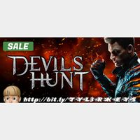 Devil's Hunt Steam Key 🔑 / Worth $14.99 / 𝑳𝑶𝑾𝑬𝑺𝑻 𝑷𝑹𝑰𝑪𝑬 / TYL3RKeys✔️