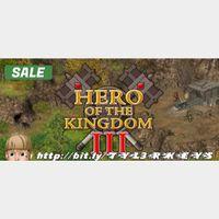 Hero of the Kingdom III Steam Key 🔑 / Worth $9.99 / 𝑳𝑶𝑾𝑬𝑺𝑻 𝑷𝑹𝑰𝑪𝑬 / TYL3RKeys✔️