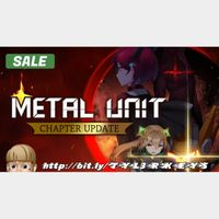 Metal Unit Steam Key 🔑 / Worth $14.99 / 𝑳𝑶𝑾𝑬𝑺𝑻 𝑷𝑹𝑰𝑪𝑬 / TYL3RKeys✔️