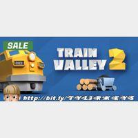 Train Valley 2 Steam Key 🔑 / Worth $14.99 / 𝑳𝑶𝑾𝑬𝑺𝑻 𝑷𝑹𝑰𝑪𝑬 / TYL3RKeys✔️
