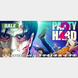 Party Hard 2 Steam Key 🔑 / Worth $19.99 / 𝑳𝑶𝑾𝑬𝑺𝑻 𝑷𝑹𝑰𝑪𝑬 / TYL3RKeys✔️