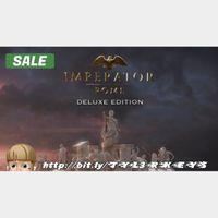 Imperator: Rome - Deluxe Edition Steam Key 🔑 / Worth $54.99 / 𝑳𝑶𝑾𝑬𝑺𝑻 𝑷𝑹𝑰𝑪𝑬 / TYL3RKeys✔️