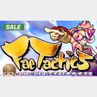 Fae Tactics Steam Key 🔑 / Worth $19.99 / 𝑳𝑶𝑾𝑬𝑺𝑻 𝑷𝑹𝑰𝑪𝑬 / TYL3RKeys✔️