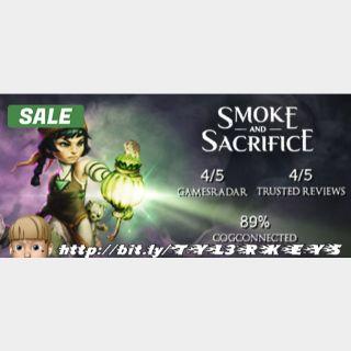 Smoke and Sacrifice Steam Key 🔑 / Worth $19.99 / 𝑳𝑶𝑾𝑬𝑺𝑻 𝑷𝑹𝑰𝑪𝑬 / TYL3RKeys✔️