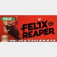 Felix the Reaper Steam Key 🔑 / Worth $24.99 / 𝑳𝑶𝑾𝑬𝑺𝑻 𝑷𝑹𝑰𝑪𝑬 / TYL3RKeys✔️