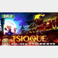 TSIOQUE Steam Key 🔑 / Worth $13.99 / 𝑳𝑶𝑾𝑬𝑺𝑻 𝑷𝑹𝑰𝑪𝑬 / TYL3RKeys✔️