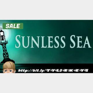 Sunless Sea Steam Key 🔑 / Worth $18.99 / 𝑳𝑶𝑾𝑬𝑺𝑻 𝑷𝑹𝑰𝑪𝑬 / TYL3RKeys✔️