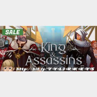 King and Assassins Steam Key 🔑 / Worth $6.99 / 𝑳𝑶𝑾𝑬𝑺𝑻 𝑷𝑹𝑰𝑪𝑬 / TYL3RKeys✔️