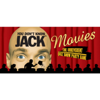 YOU DON'T KNOW JACK MOVIES Steam Key 🔑 / Worth $2.99 / 𝑳𝑶𝑾𝑬𝑺𝑻 𝑷𝑹𝑰𝑪𝑬 / TYL3RKeys✔️
