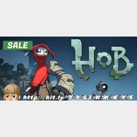 Hob Steam Key 🔑 / Worth $19.99 / 𝑳𝑶𝑾𝑬𝑺𝑻 𝑷𝑹𝑰𝑪𝑬 / TYL3RKeys✔️