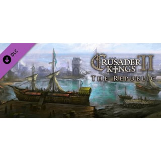 Crusader Kings II: The Republic Steam Key 🔑 / Worth $9.99 / 𝑳𝑶𝑾𝑬𝑺𝑻 𝑷𝑹𝑰𝑪𝑬 / TYL3RKeys✔️