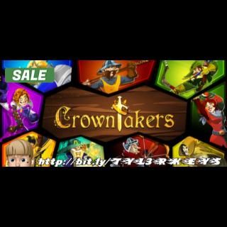 Crowntakers Steam Key 🔑 / Worth $9.99 / 𝑳𝑶𝑾𝑬𝑺𝑻 𝑷𝑹𝑰𝑪𝑬 / TYL3RKeys✔️