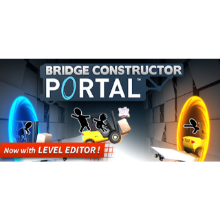 Bridge Constructor Portal Steam Key 🔑 / Worth $9.99 / 𝑳𝑶𝑾𝑬𝑺𝑻 𝑷𝑹𝑰𝑪𝑬 / TYL3RKeys✔️