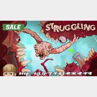 Struggling Steam Key 🔑 / Worth $14.99 / 𝑳𝑶𝑾𝑬𝑺𝑻 𝑷𝑹𝑰𝑪𝑬 / TYL3RKeys✔️