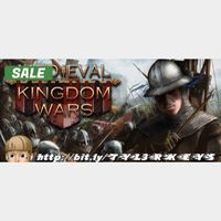 Medieval Kingdom Wars Steam Key 🔑 / Worth $13.99 / 𝑳𝑶𝑾𝑬𝑺𝑻 𝑷𝑹𝑰𝑪𝑬 / TYL3RKeys✔️