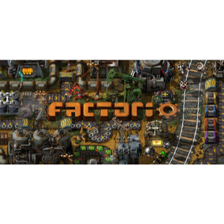 Factorio Steam Key 🔑 / Worth $30.00 / 𝑳𝑶𝑾𝑬𝑺𝑻 𝑷𝑹𝑰𝑪𝑬 / TYL3RKeys✔️