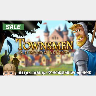 Townsmen – A Kingdom Rebuilt Steam Key 🔑 / Worth $19.99 / 𝑳𝑶𝑾𝑬𝑺𝑻 𝑷𝑹𝑰𝑪𝑬 / TYL3RKeys✔️