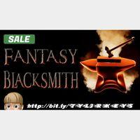 Fantasy Blacksmith Steam Key 🔑 / Worth $9.99 / 𝑳𝑶𝑾𝑬𝑺𝑻 𝑷𝑹𝑰𝑪𝑬 / TYL3RKeys✔️