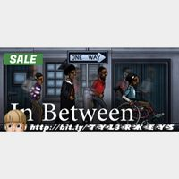 In Between Steam Key 🔑 / Worth $11.99 / 𝑳𝑶𝑾𝑬𝑺𝑻 𝑷𝑹𝑰𝑪𝑬 / TYL3RKeys✔️