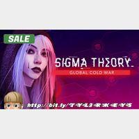 Sigma Theory: Global Cold War Steam Key 🔑 / Worth $17.99 / 𝑳𝑶𝑾𝑬𝑺𝑻 𝑷𝑹𝑰𝑪𝑬 / TYL3RKeys✔️