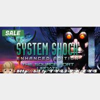 System Shock: Enhanced Edition Steam Key 🔑 / Worth $9.99 / 𝑳𝑶𝑾𝑬𝑺𝑻 𝑷𝑹𝑰𝑪𝑬 / TYL3RKeys✔️