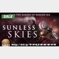 Sunless Skies Steam Key 🔑 / Worth $24.99 / 𝑳𝑶𝑾𝑬𝑺𝑻 𝑷𝑹𝑰𝑪𝑬 / TYL3RKeys✔️