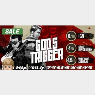 God's Trigger Steam Key 🔑 / Worth $14.99 / 𝑳𝑶𝑾𝑬𝑺𝑻 𝑷𝑹𝑰𝑪𝑬 / TYL3RKeys✔️