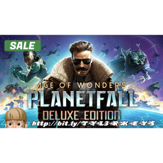 Age of Wonders: Planetfall Deluxe Edition Steam Key 🔑 / Worth $59.99 / 𝑳𝑶𝑾𝑬𝑺𝑻 𝑷𝑹𝑰𝑪𝑬 / TYL3RKeys✔️