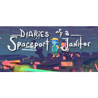 Diaries of a Spaceport Janitor Steam Key 🔑 / Worth $9.99 / 𝑳𝑶𝑾𝑬𝑺𝑻 𝑷𝑹𝑰𝑪𝑬 / TYL3RKeys✔️