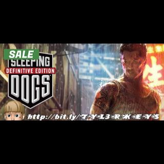 Sleeping Dogs: Definitive Edition Steam Key 🔑 / Worth $19.99 / 𝑳𝑶𝑾𝑬𝑺𝑻 𝑷𝑹𝑰𝑪𝑬 / TYL3RKeys✔️