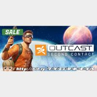 Outcast - Second Contact Steam Key 🔑 / Worth $34.99 / 𝑳𝑶𝑾𝑬𝑺𝑻 𝑷𝑹𝑰𝑪𝑬 / TYL3RKeys✔️