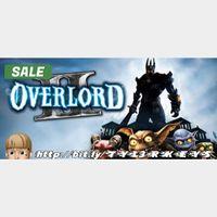 Overlord II Steam Key 🔑 / Worth $9.99 / 𝑳𝑶𝑾𝑬𝑺𝑻 𝑷𝑹𝑰𝑪𝑬 / TYL3RKeys✔️