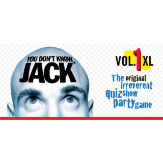 YOU DON'T KNOW JACK Vol. 1 XL Steam Key 🔑 / Worth $2.99 / 𝑳𝑶𝑾𝑬𝑺𝑻 𝑷𝑹𝑰𝑪𝑬 / TYL3RKeys✔️