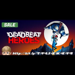 Deadbeat Heroes Steam Key 🔑 / Worth $14.99 / 𝑳𝑶𝑾𝑬𝑺𝑻 𝑷𝑹𝑰𝑪𝑬 / TYL3RKeys✔️