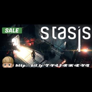 STASIS Steam Key 🔑 / Worth $9.99 / 𝑳𝑶𝑾𝑬𝑺𝑻 𝑷𝑹𝑰𝑪𝑬 / TYL3RKeys✔️