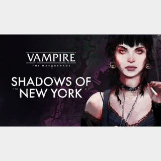 Vampire: The Masquerade – Shadows of New York Steam Key 🔑 / Worth $19.99 / 𝑳𝑶𝑾𝑬𝑺𝑻 𝑷𝑹𝑰𝑪𝑬 / TYL3RKeys✔️