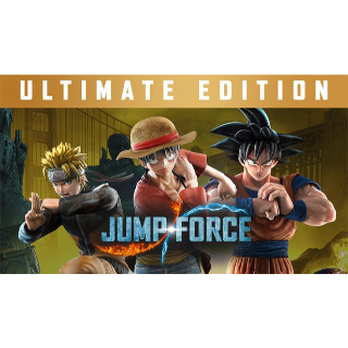 JUMP FORCE ULTIMATE EDITION Steam Key 🔑 / Worth $99.99 / 𝑳𝑶𝑾𝑬𝑺𝑻 𝑷𝑹𝑰𝑪𝑬 / TYL3RKeys✔️