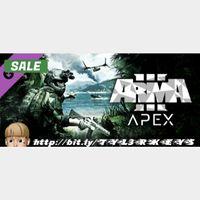 Arma 3 Apex Steam Key 🔑 / Worth $24.99 / 𝑳𝑶𝑾𝑬𝑺𝑻 𝑷𝑹𝑰𝑪𝑬 / TYL3RKeys✔️