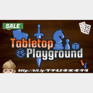 Tabletop Playground Steam Key 🔑 / Worth $14.99 / 𝑳𝑶𝑾𝑬𝑺𝑻 𝑷𝑹𝑰𝑪𝑬 / TYL3RKeys✔️