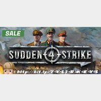 Sudden Strike 4 Steam Key 🔑 / Worth $19.99 / 𝑳𝑶𝑾𝑬𝑺𝑻 𝑷𝑹𝑰𝑪𝑬 / TYL3RKeys✔️