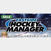 Eastside Hockey Manager Steam Key 🔑 / Worth $19.99 / 𝑳𝑶𝑾𝑬𝑺𝑻 𝑷𝑹𝑰𝑪𝑬 / TYL3RKeys✔️