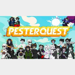 Pesterquest Steam Key 🔑 / Worth $11.99 / 𝑳𝑶𝑾𝑬𝑺𝑻 𝑷𝑹𝑰𝑪𝑬 / TYL3RKeys✔️
