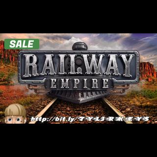 Railway Empire Steam Key 🔑 / Worth $49.99 / 𝑳𝑶𝑾𝑬𝑺𝑻 𝑷𝑹𝑰𝑪𝑬 / TYL3RKeys✔️