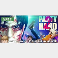 Party Hard 2 Steam Key 🔑 / Worth $19.99 / 𝑳𝑶𝑾𝑬𝑺𝑻 𝑷𝑹𝑰𝑪𝑬 / TYL3RKeys✔️