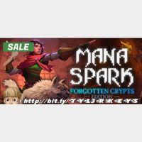 Mana Spark Steam Key 🔑 / Worth $11.99 / 𝑳𝑶𝑾𝑬𝑺𝑻 𝑷𝑹𝑰𝑪𝑬 / TYL3RKeys✔️