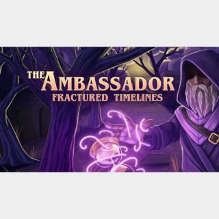 The Ambassador: Fractured Timelines Steam Key 🔑 / Worth $14.99 / 𝑳𝑶𝑾𝑬𝑺𝑻 𝑷𝑹𝑰𝑪𝑬 / TYL3RKeys✔️